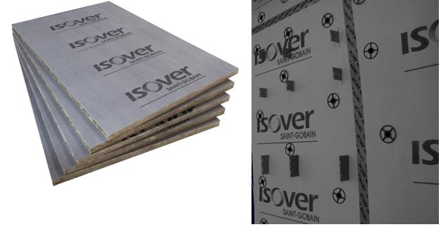 Vėjo izoliacinių plokščių montavimas ISOVER